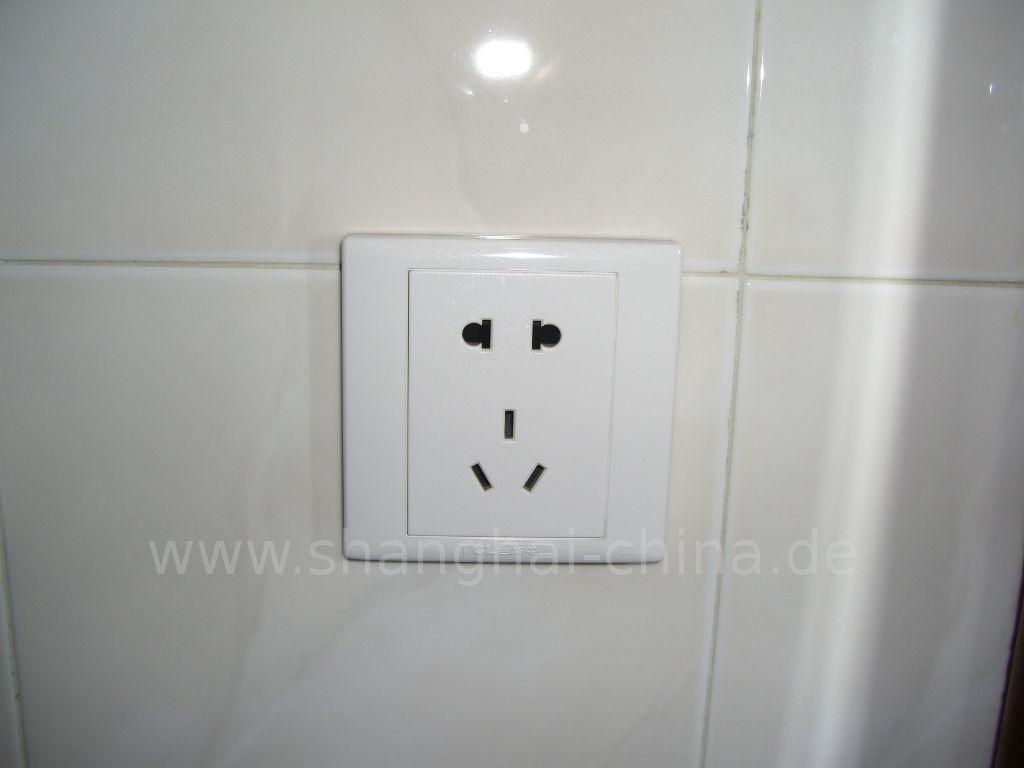 steckdosen in shanghai welchen stromstecker adapter. Black Bedroom Furniture Sets. Home Design Ideas